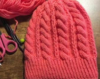 Twisted Knitting Pattern
