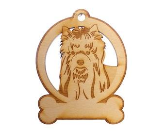 Yorkie Ornament - Yorkie Gift  - Yorkie Ornaments - Yorkie Gifts - Yorkie Memorial - Yorkshire Terrier Ornament - Personalized Free