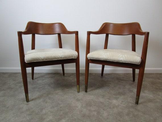 Beau Pair Of Mid Century Modern Milwaukee Chair Company Chairs