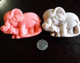 Mother & Baby Elephant - Goat's Milk Soap