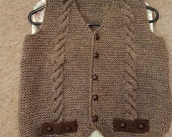 Country Tweed Waistcoat