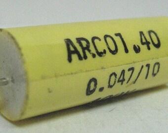 Capacitor 47nF 10% 400V, polyester
