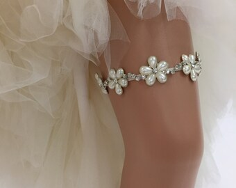 Pamela - Glamorous Bling Bridal Wedding Garter