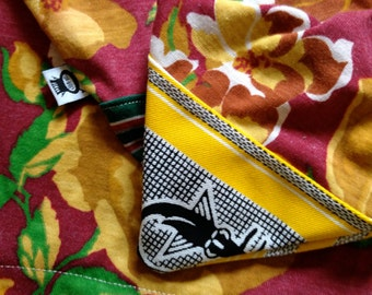 CUSTOM up to 6ft Surfboard Bag handmade from vintage and inspired knits with drawstring, surfboard sock