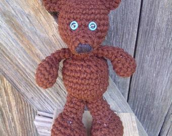 Amigurumi Crochet Teddy Bear