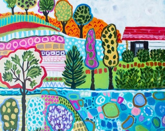Bohemian Painting Karen Fields