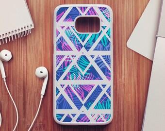 Palm Tree Case For Samsung Galaxy S8, Geometric Case For Samsung Galaxy S7, Palm Tree Case For Samsung Galaxy S6, Case