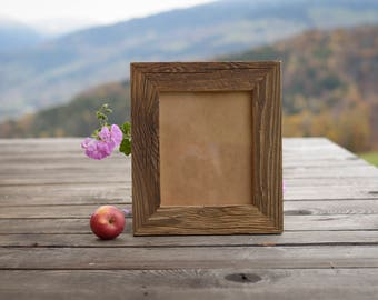 (Larger sizes) old wooden picture frame, STANDARD (until 50x75cm 30x40cm) / square (30x30cm until 50x50cm) /PANORAMA (13x45cm until 30x76cm)