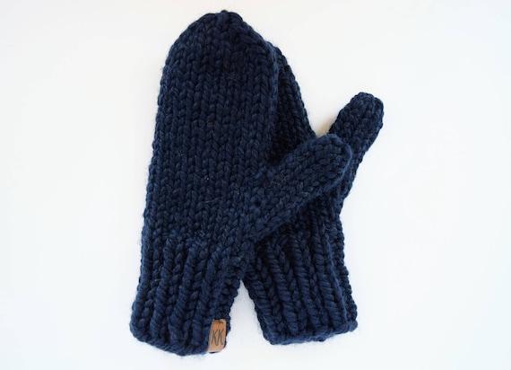 Grobstrick stricken Handschuhe / / gestrickte Handschuhe /