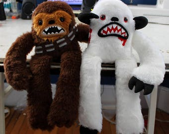 Chewbacca and Wampa