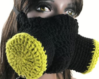 Crochet Post Apocalyptic Gasmask