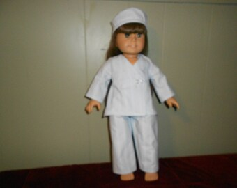 Scrubs for American Girl  or 18 inch doll