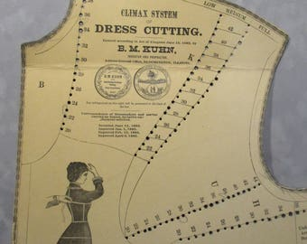 Dress Patterns from 1882