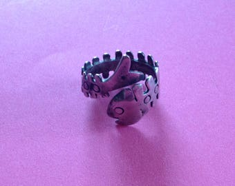 Vintage Mexican Fishy Ring