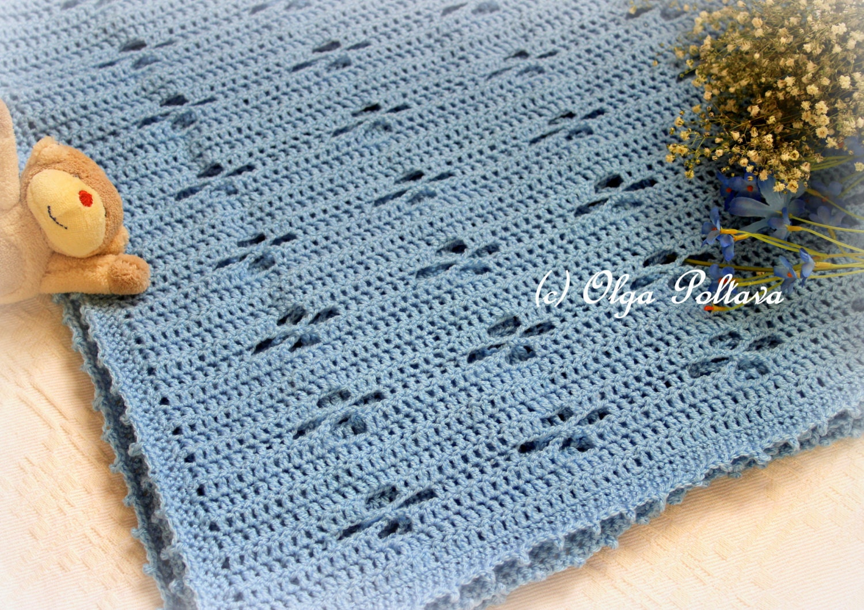 Soft Twinkle Baby Blanket Crochet Pattern Baby Boy Afghan