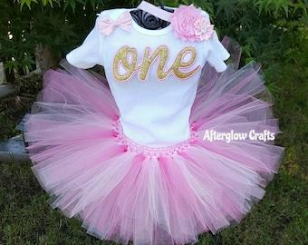Baby Birthday Tutu, Baby Birthday Outfit,  Baby Tutu, Baby Birthday Tutu Set, Birthday Baby Tutu Set, Baby Tutu Set, Baby Tutu Outfit