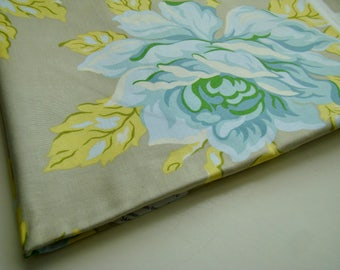 Heather Bailey Nicey Jane Hello Roses Taupe Original Release HB-18 Fabric OOP Half Yard Very Hard to Find Rare