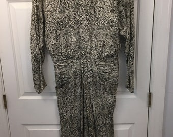 Lillie Rubin 100% Silk Size 12