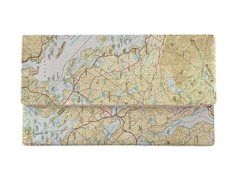 NH: Lake Winnipesaukee, NH Topo Map Clutch