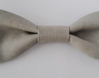 Grey Dog Bow Tie for medium and large dogs