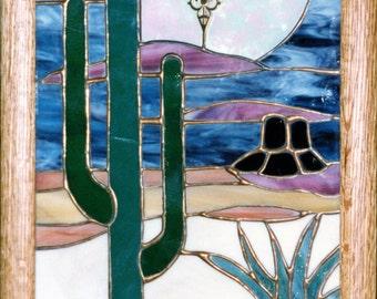 CLOCK - Desert Scene