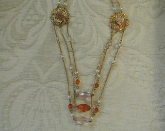 A Cute Three Layer Necklace