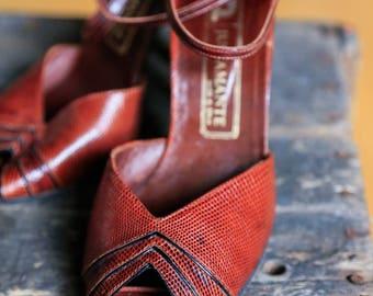 Handmade Ankle Strap Heels | Snake skin shoes | Leather Dancing Shoes | Dancing Shoes | Leather Ankle Strap Shoes | Ankle Strap Heels |