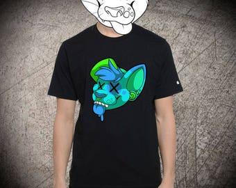 Blue Doge T Shirt