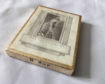 Sealed Pack Of Vintage Antioch Bookplates Made In USA From The Library Of 3 X 4 Inches
