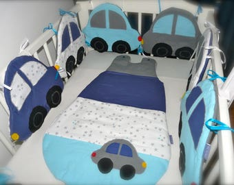 Round bed small cars