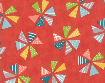 Colorful Pinwheel Fabric - Mixed Bag by Studio M from Moda