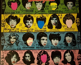 The Rolling Stones - Some Girls vinyl album