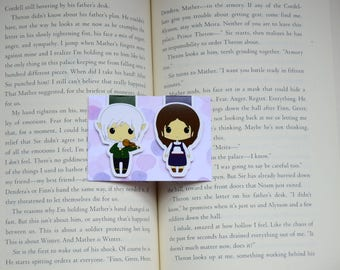 Wintersong magnetic bookmarks