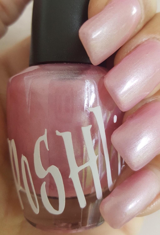 Esmalte de uñas Rosa nacarado de \