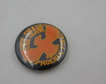 Vintage Pin Pinback Button Paul Frank Phoenix Fire dr29