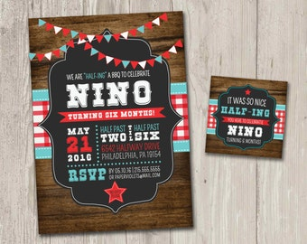 Young wild three birthday party invitations boho birthday half birthday party invitation western bbq birthday party invitation with free matching favor tags filmwisefo Images