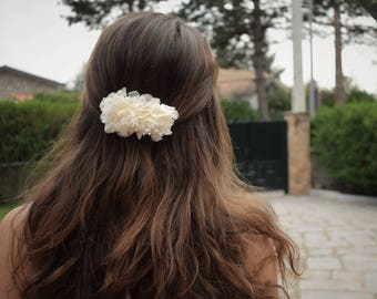 Preserved Flowers Comb | Floral Hair Comb