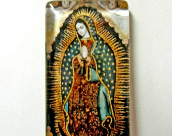 Lady of Guadalupe pendant with chain - GP01-326