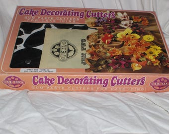 Jems Cake Decorating Cutters