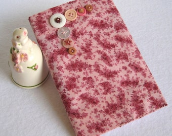 Fabric Covered Mini Journal