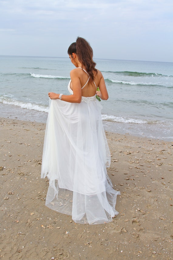 Dress Wedding Backless Wedding Dress Boho Wedding Dress Dress Wedding Long Bridal Dress Bohemian Wedding Wedding Dress Gown Beach PRZqwRd