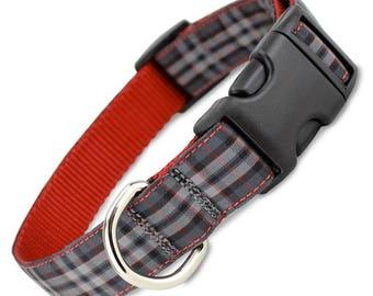 Plaid Dog Collar, Pride of Scotland Tartan
