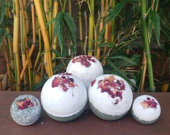 Rosey Sandalwood Bath bomb| iBeauty Gifts
