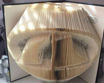 Book Folding Pattern Sail Boat