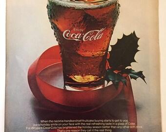 Vintage Coca Cola Ad - Life Magazine - Coke Advertisment