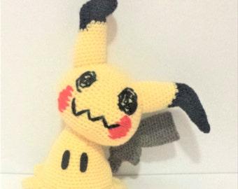 Mimikyu Crochet Plushie