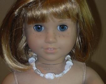 Shell Necklace for American Girl or Bracelet for Girl