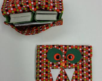Card case, card monster, gift for children, storage for playing cards