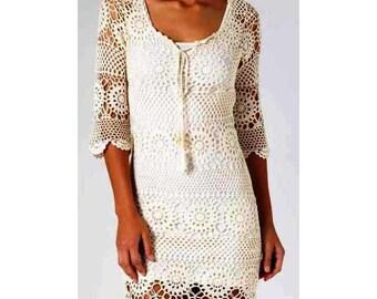 irish crochet dress patterndetailed tutorialirish lace