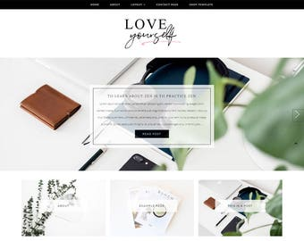 Wordpress Theme - Responsive Wordpress Template - Lifestyle Blog Template - Genesis Child Theme - Genesis Framework Theme // LOVE